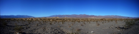 Death Valley - dunes - panoramique