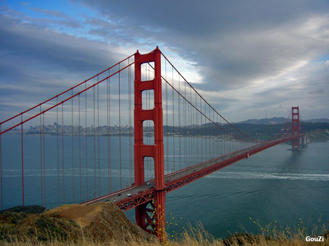 Golden Gate Bridge - Baie de San Francisco