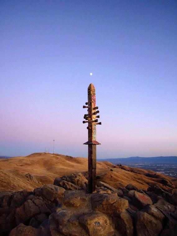 Mission Peak Sunset