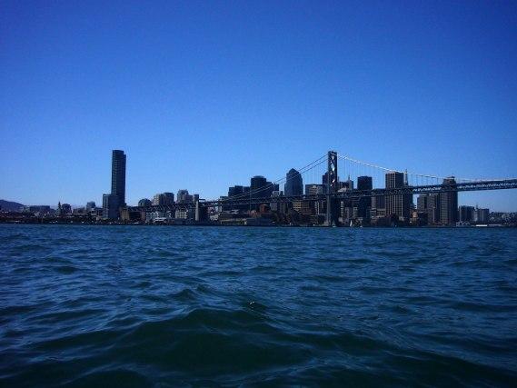 Voile dans la Baie de San Francisco