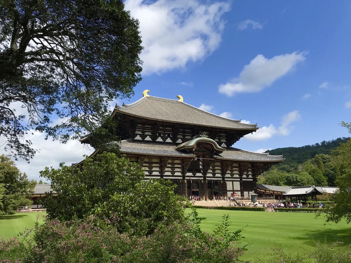 Nara Park Temples, Japan