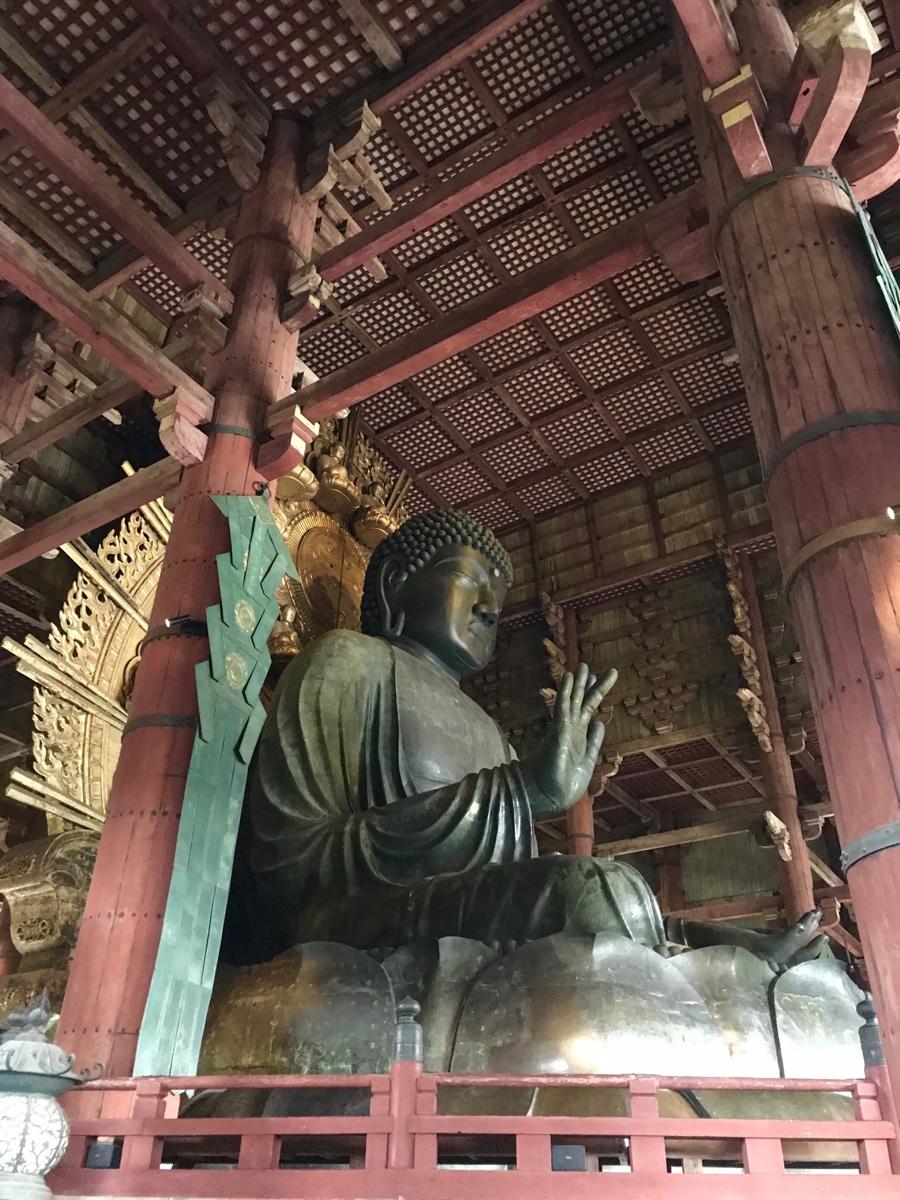 Buddha, Nara Park Temples, Japan