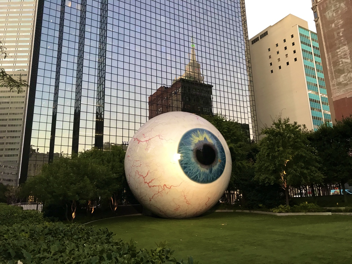 Dallas, TX, Main Street District, Big Eye