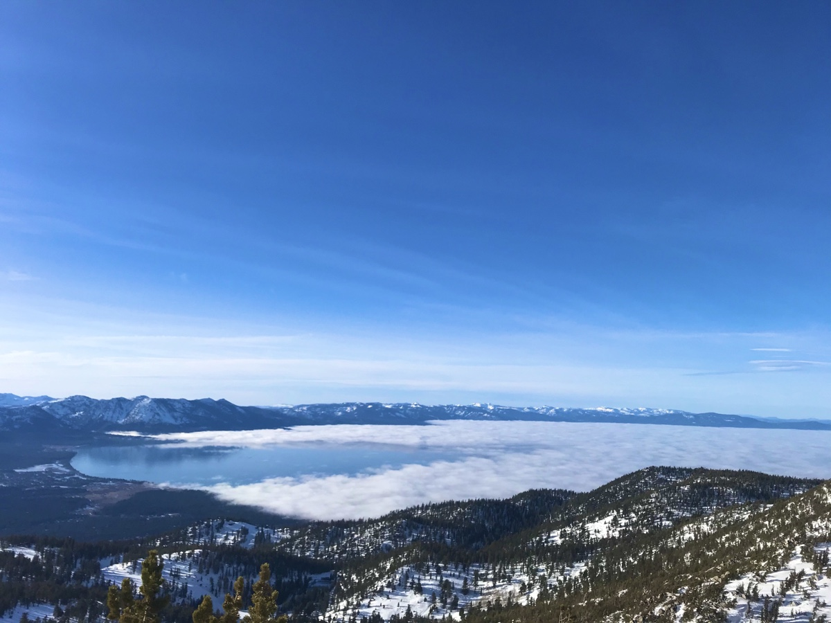 Heavenly, South Lake Tahoe, CA - Sea Of Cloud